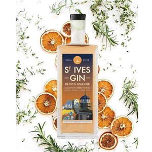 St Ives Blood Orange Gin 70cl (38%)