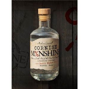 OUT OF STOCK Cornish Moonshine Devil's Water Whisky 50cl (50%)