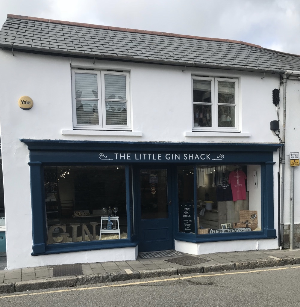 The Little Gin Shack,  4 Polmorla Road, Wadebridge PL27 7ND